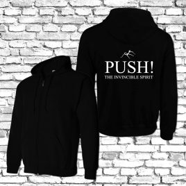 Hoodie Zipper – PUSH! Logo – Limited Edition