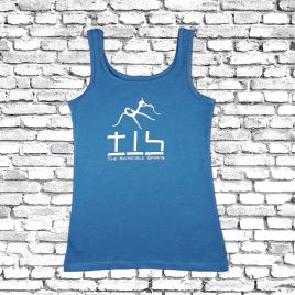 T-SHIRT Girlie (Blue) – sleeveless