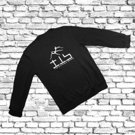 SWEATSHIRT (Black) – TIS Logo (PSG9)
