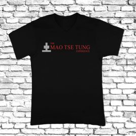 T-SHIRT (Black) – The Mao Tse Tung Experience