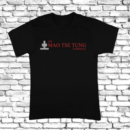 TShirt-black-Mao-Tse-Tung-Ex 100percent cotton