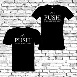 T-Shirt – PUSH! Logo (w/m) – Limited Edition