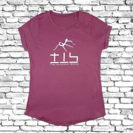T-SHIRT Girlie (Fuchsia) – short sleeve